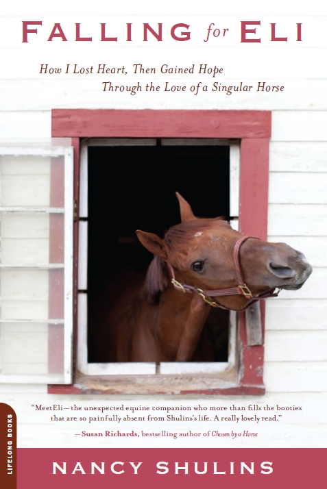 Falling for Eli, a memoir about living through infertility and loving a special horse